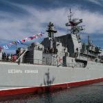 В Черном море российский военный корабль потерпел фиаско