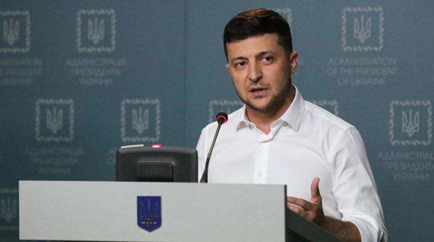 Зеленский готов к переговорам с Россией и прекращению огня на Донбассе