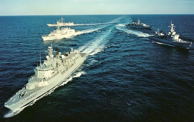 Белый дом пообещал России, что учения в Балтийском море пройдут спокойно