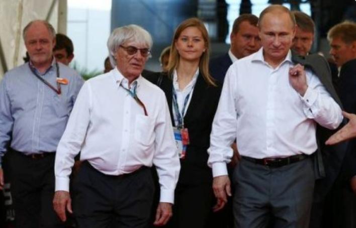 «Я бы закрыл его от пули собой»: Экс-глава «Формулы-1» предложил Путину править всей Европой