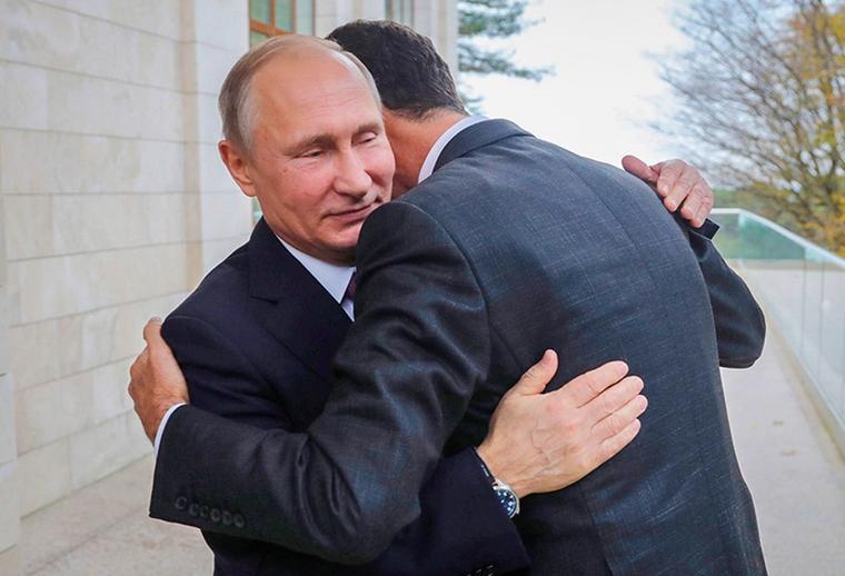 Путин дал обещание Асаду