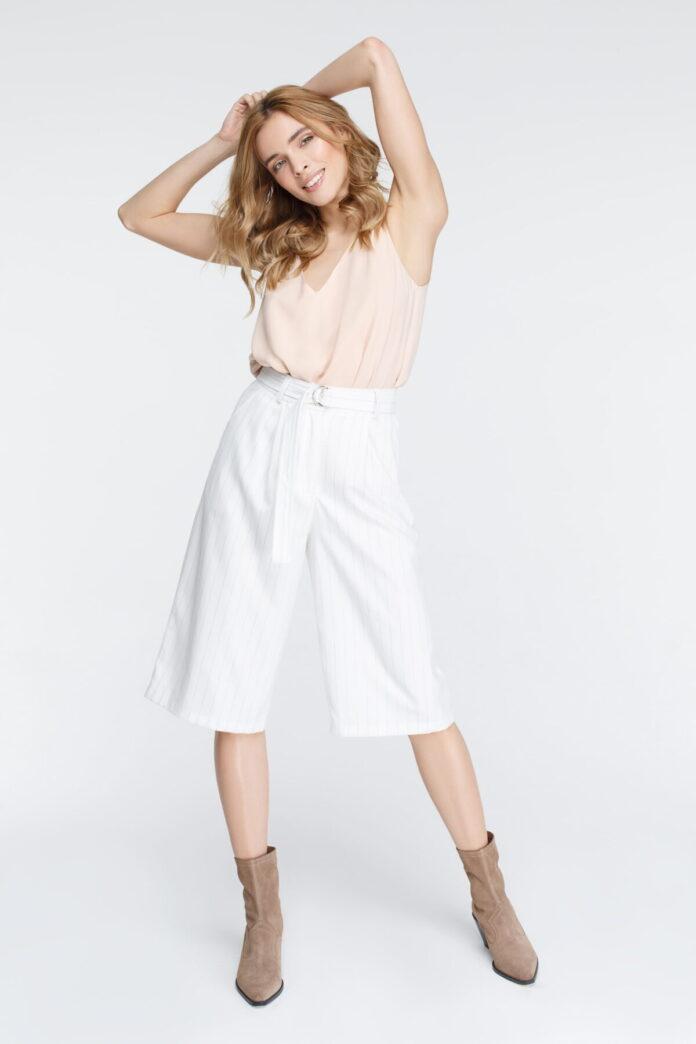 Женские брюки кюлоты: стильные тенденции 2019
