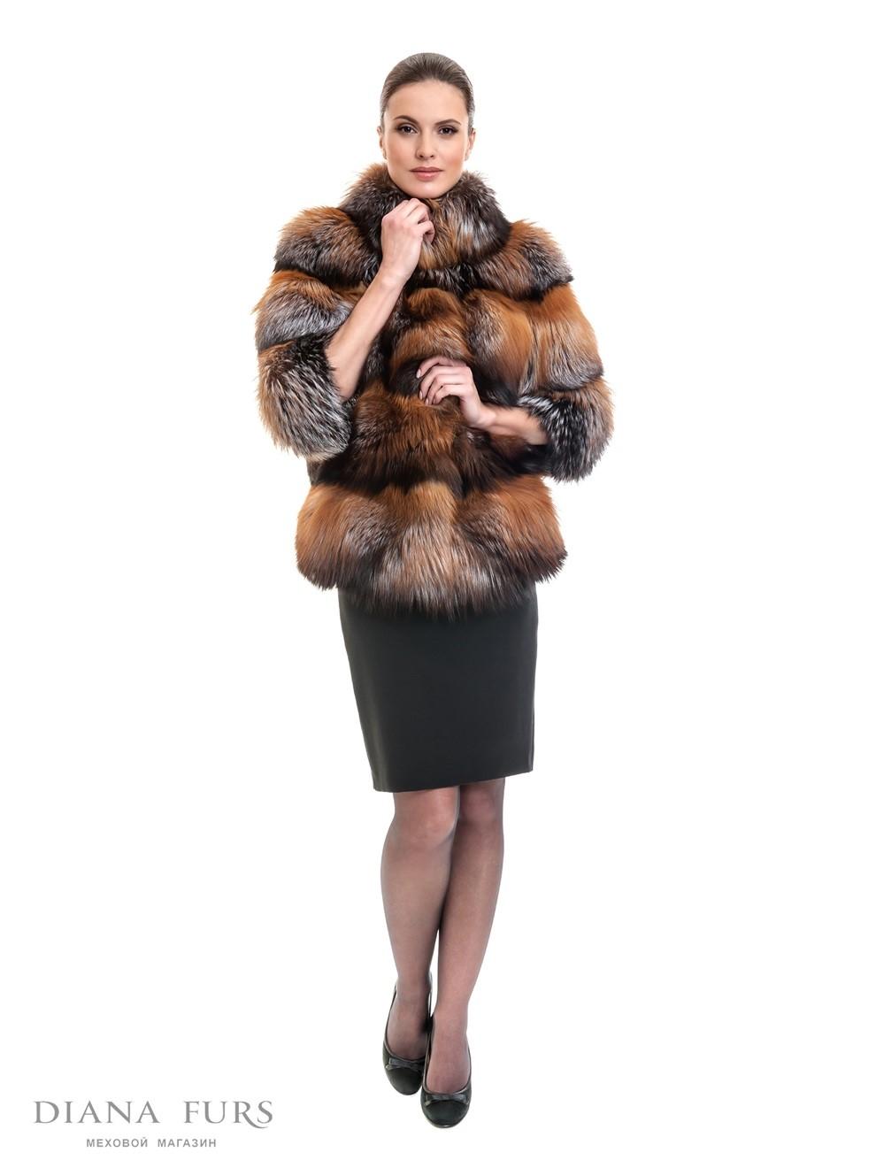 Модные, стильные и качественные шубы в магазинах российской фабрики DIANAFURS