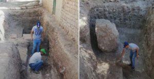 В Египте во время бурильных работ обнаружен древний храм