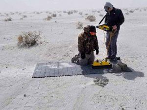 Ученые изучили 12000-летний отпечаток ноги мамонта и нашли рядом следы человека
